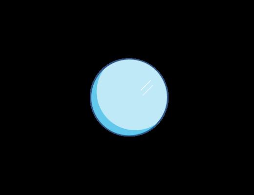 Niebieskie zabarwienie soczewek ACUVUE®