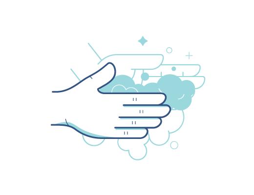 Mycie rąk przed dotknięciem soczewek kontaktowych