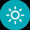 Słońce – symbol ochrony przed promieniowaniem UV w soczewkach kontaktowych ACUVUE®