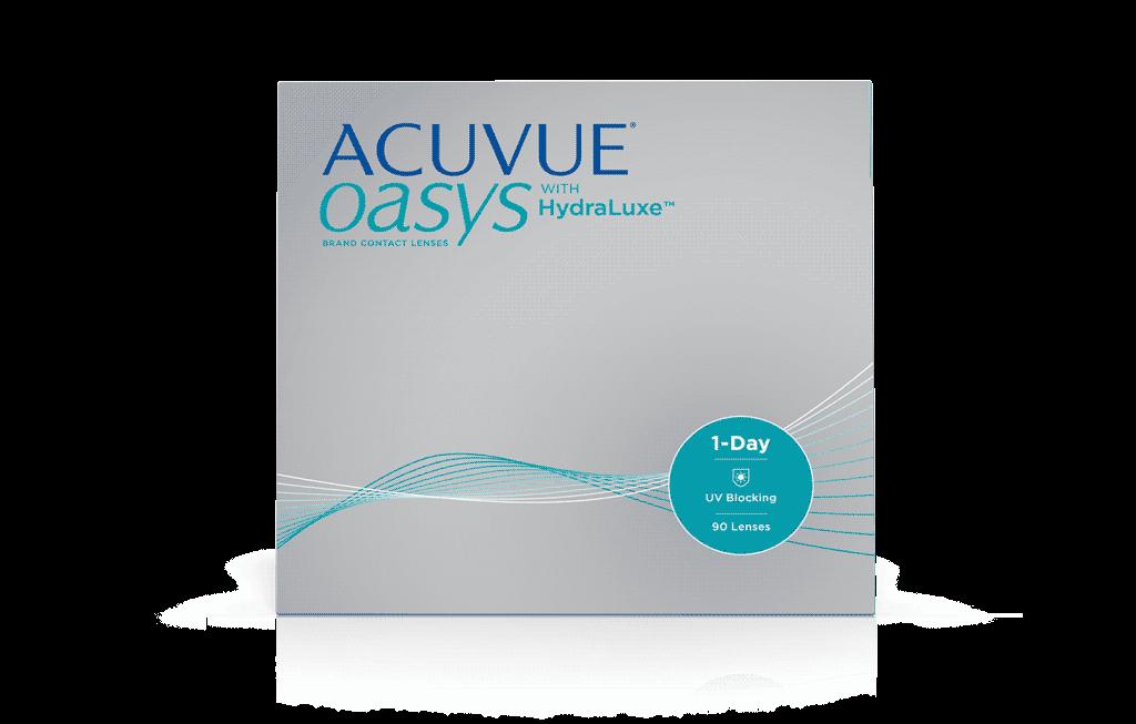 ACUVUE® OASYS 1-Day z Technologią Zintegrowanej Łzy Hydraluxe™
