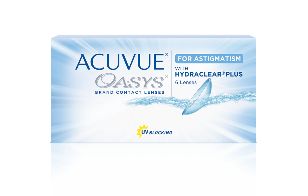 ACUVUE® OASYS for ASTIGMATISM